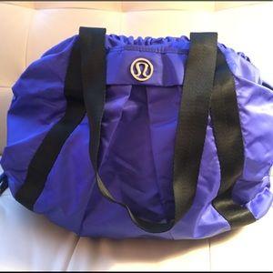 NWOT Lululemon Duffle Bag Royal Blue Crossbody